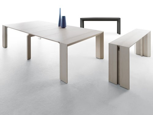 Minuetto Space-Saving Table from Milano Smart Living