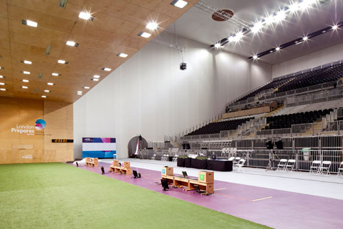 The White Membrane Still Allows Light To Filter Through Which Makes Venue Seem Bright And Airy