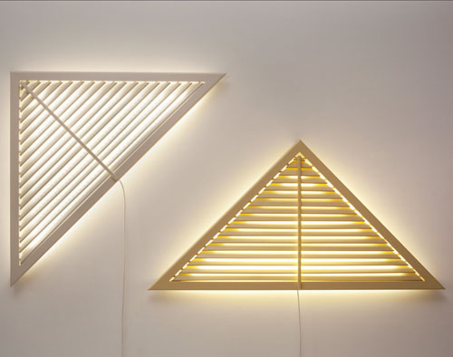 Daylight Lamp Sculptures by Philippe Malouin