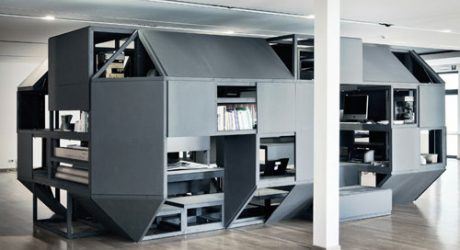 Verbandkammer Flexible, Multifunctional Workspace by Nilsson Pflugfelder
