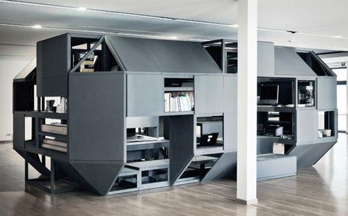 Verbandkammer Flexible, Multifunctional Workspace by Nilsson Pflugfelder