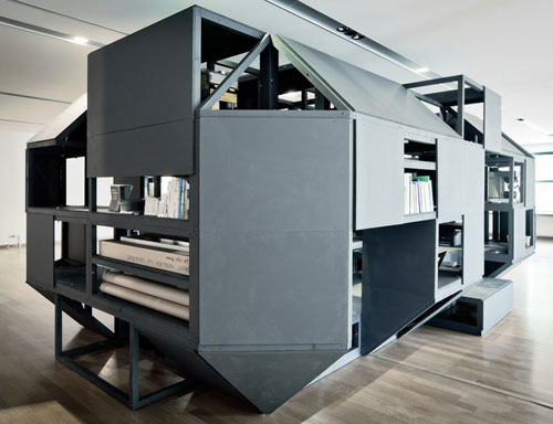 Verbandkammer Flexible, Multifunctional Workspace by Nilsson Pflugfelder in news events architecture  Category
