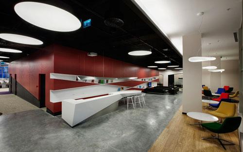 Fun Open Office: eBay – GittiGidiyor in Istanbul by OSO Architecture
