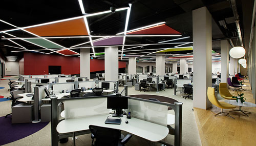 Fun Open Office: eBay   GittiGidiyor in Istanbul by OSO Architecture in main interior design architecture  Category