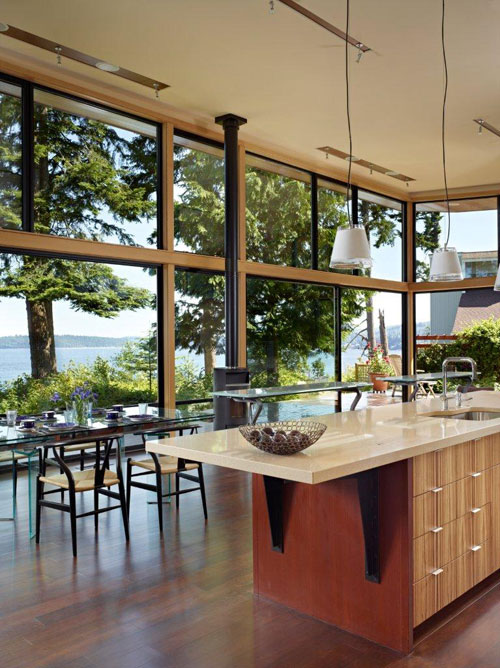 Glass Walled Waterfront Residence by Finne Architects in main architecture  Category