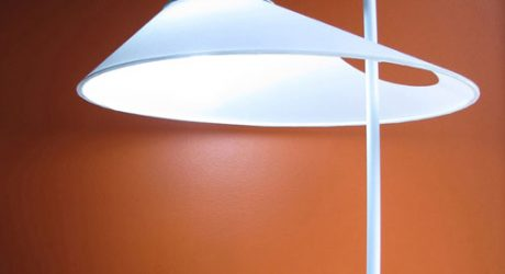 Asymmetrical Oval Lamp by Ran Lerner