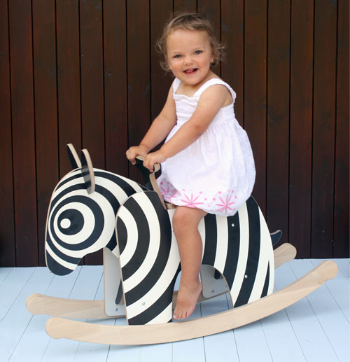 Rocking Zebra by Newmakers is the New Rocking Horse