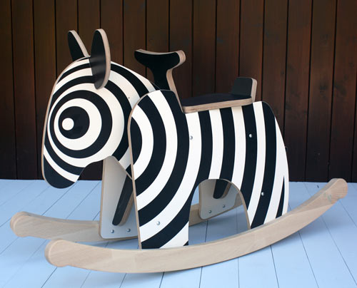 Rocking Zebra by Newmakers is the New Rocking Horse in home furnishings  Category