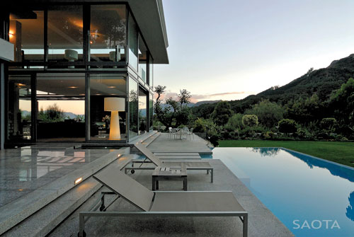 Home with Mountain and Bay Views by SAOTA in architecture  Category