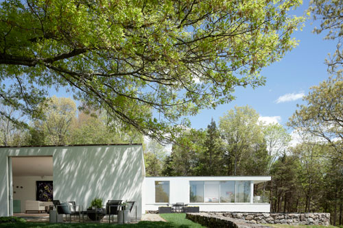 Addition to Edward Larrabee Barnes Home by Robert Siegel Architects