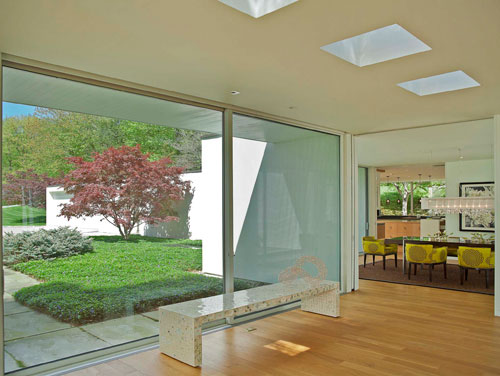 Addition to Edward Larrabee Barnes Home by Robert Siegel Architects in main architecture  Category