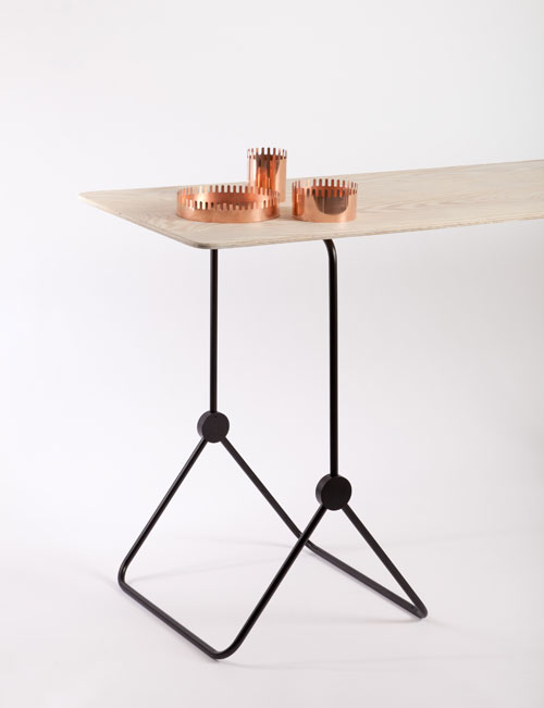 Norwegian Designers Strek Collectives Versatile Trestles, Lamps and Containers in home furnishings  Category