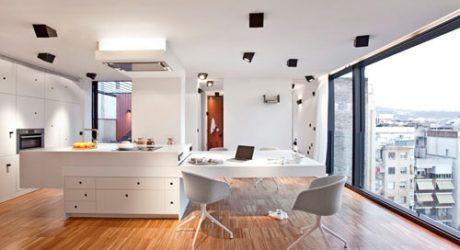 Unique Artistic Lighting Concept in a Barcelona Apartment by DestinationBCN