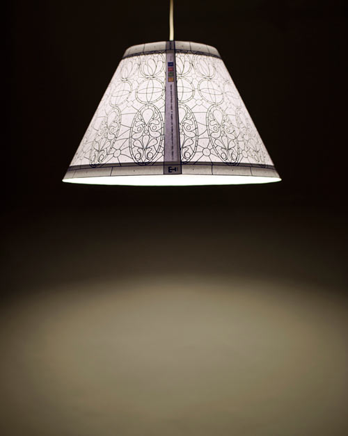 Lamp T1895: Color In Your Own Tiffany Style Lamp in main home furnishings art  Category