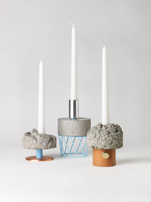 """Crowd"" Candlesticks by David Taylor"