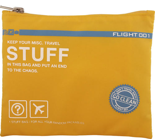 Smart Packing Go Clean Travel Bags from Flight 001 in style fashion main  Category