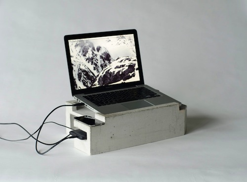 Foundation Laptop Storage Unit by Greg Papove