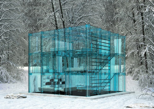 You Won't Want To Throw Stones From This House of Glass