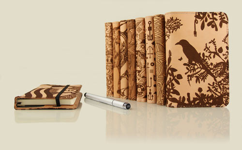 Artistic Notebook Covers from Grove