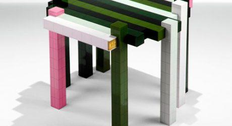 DIY LEGO Histogram Table from Nucleo