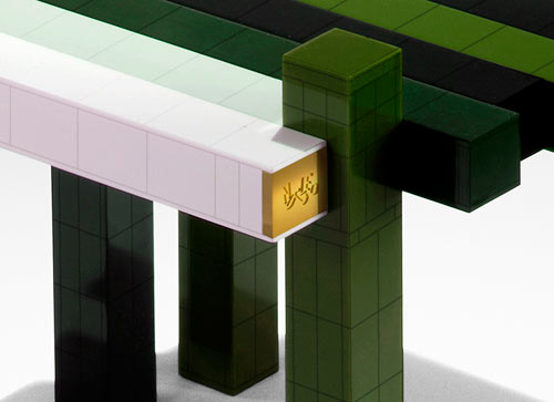 DIY LEGO Histogram Table from Nucleo in main home furnishings  Category