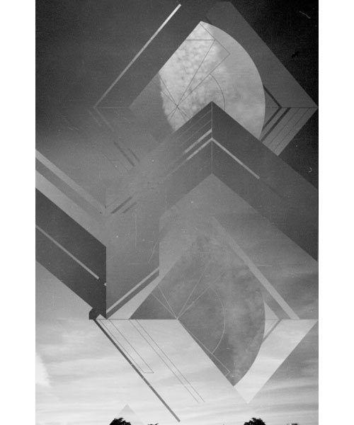 Fresh From The Dairy: Black & White Collage in technology style fashion main art  Category