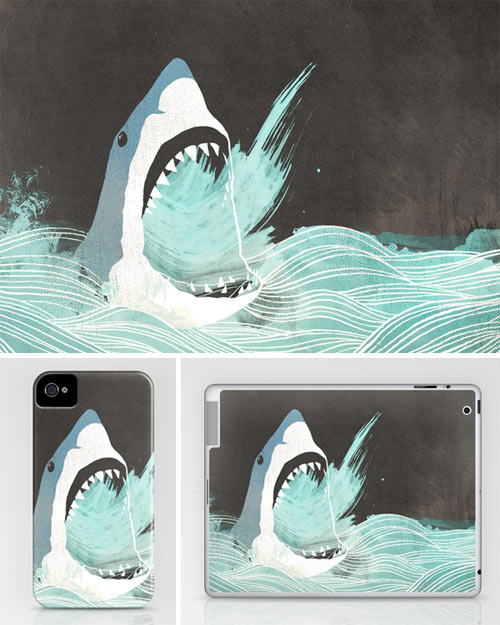 Fresh From The Dairy: Shark Week in technology style fashion art  Category