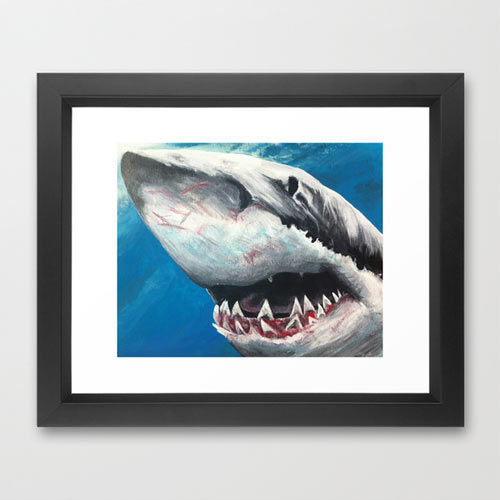 s6-shark-framed