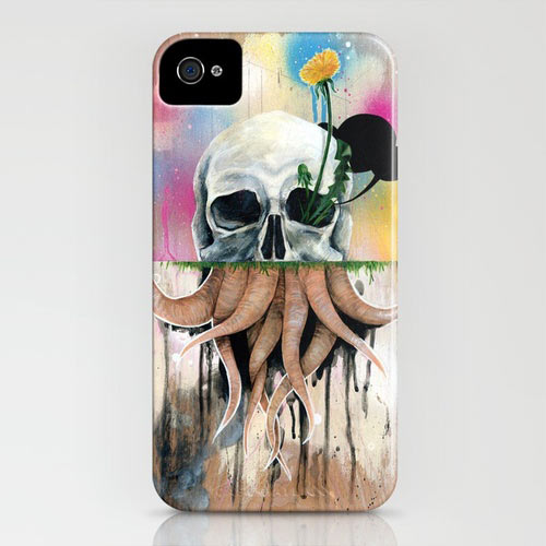 Fresh From The Dairy: Skull iPhone Cases in technology style fashion main art  Category