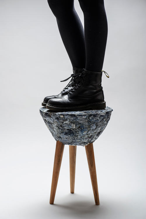Stool Fase #3 by Bernardita Marambio B. in main home furnishings  Category