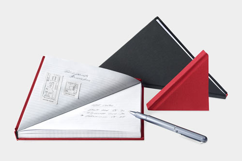 Triangle Notebook by Tan Mavitan in style fashion main  Category