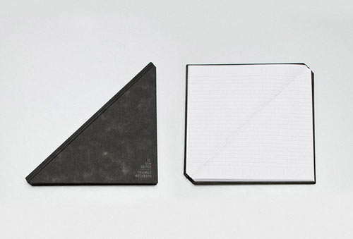 Triangle Notebook by Tan Mavitan