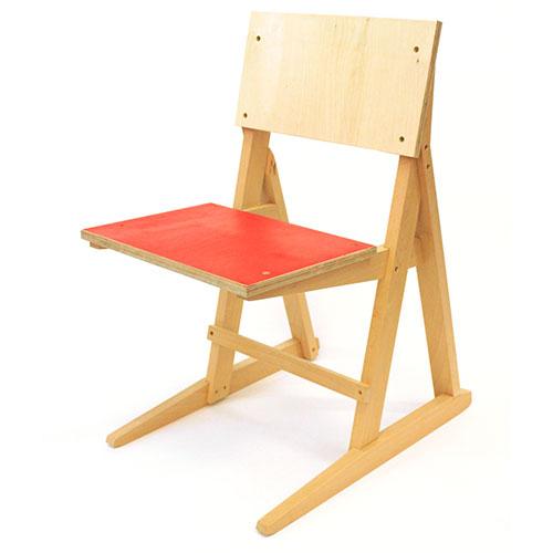 Alex Hellum X3 Chair Detail