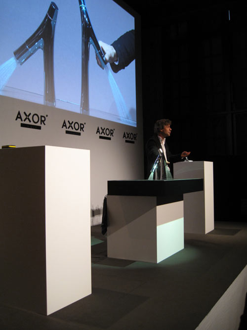 Philippe Starck and Axor Launch New Faucet Collection in technology main interior design home furnishings  Category