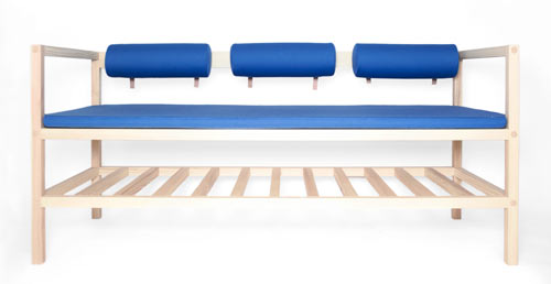 Bench and Blanket   BENKT   by günzler.polmar in main home furnishings  Category