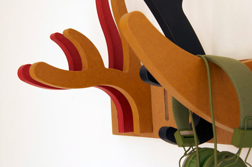 Modular Antler and Horn Coat Rack by 5LAB in home furnishings  Category