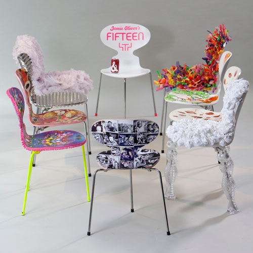 Fritz Hansen Big Chair Project with Jamie Oliver