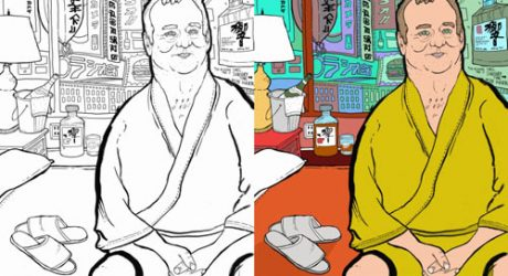 Thrill Murray: A Bill Murray Coloring Book by Belly Kids