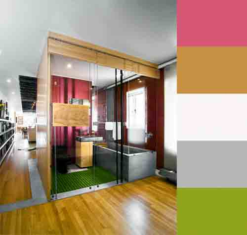 Color Pop: Paul Kariouk's Architecture and Interiors