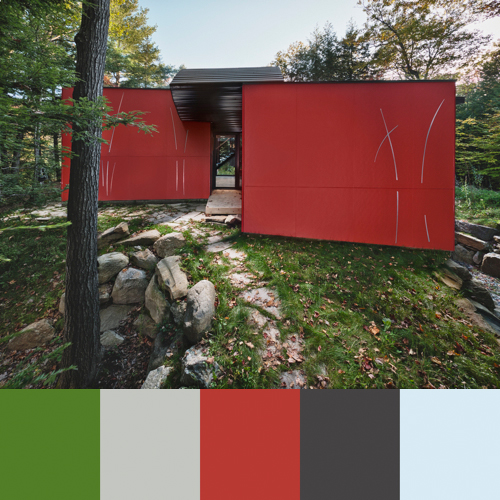 Color Pop: Paul Kariouks Architecture and Interiors in main interior design architecture  Category