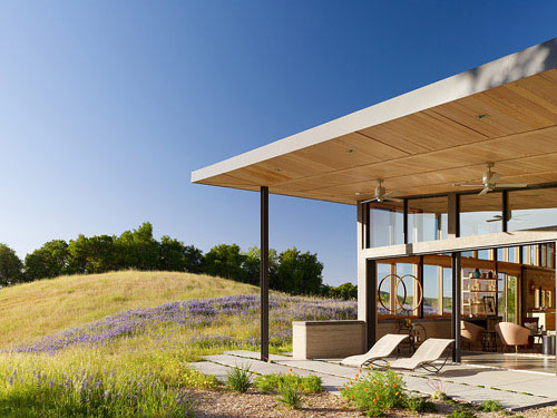 House Made from the Ground it Sits On by Feldman Architecture in main architecture  Category