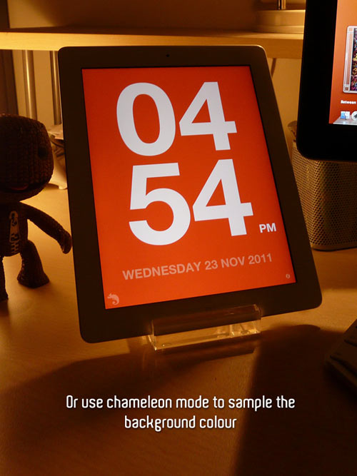 Chameleon Clock App in technology main  Category