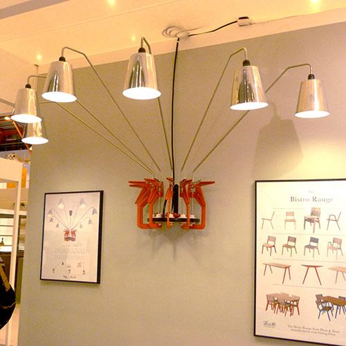 Clamp Lamp Plant & Moss