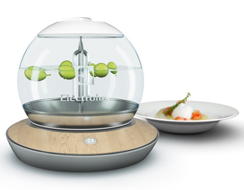 Electrolux Design Lab 2012 Finalists in technology main home furnishings  Category