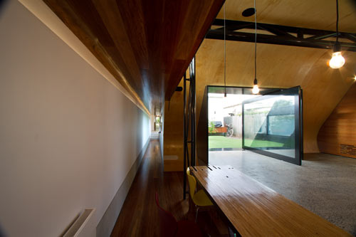 House with Artificial Hill and Synthetic Grass by Andrew Maynard Architects in main architecture  Category