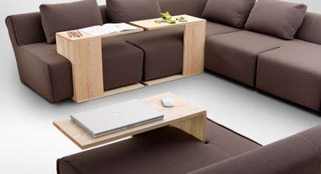 Modular Furniture You Can Arrange The Way You Want: Hocky by Marcin Wielgosz