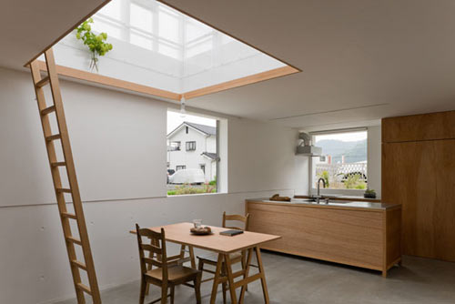 Japanese House Inspired by Greenhouses by Yo Shimada in main architecture  Category