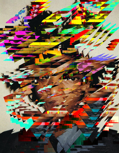 Digitally Distorted Portraits by Jack Addis