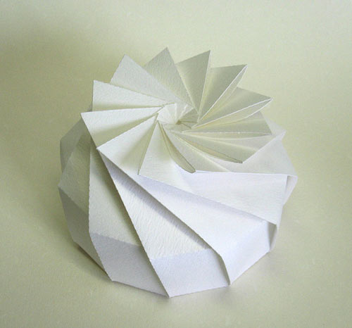 3D Origami by Jun Mitani in technology main art  Category
