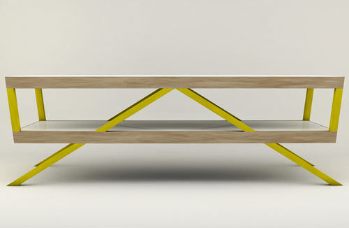 Kitara Coffee Table by Max Ptk